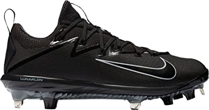 finest selection 95f73 cdc5b Nike Men s Lunar Vapor Ultrafly Elite Metal Baseball Cleats (Black Black,  9.0 D