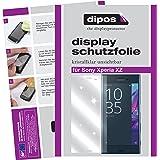 dipos Sony Xperia XZ Schutzfolie (6 Stück) - kristallklare Premium Folie Crystalclear