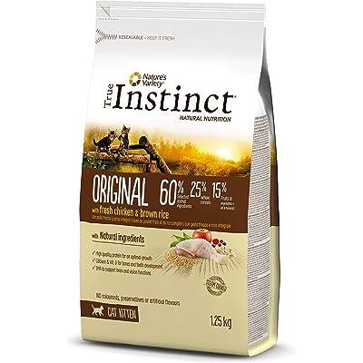 True Instinct Original Comida Para Gatito con pollo y arroz integral - 1.25 kg