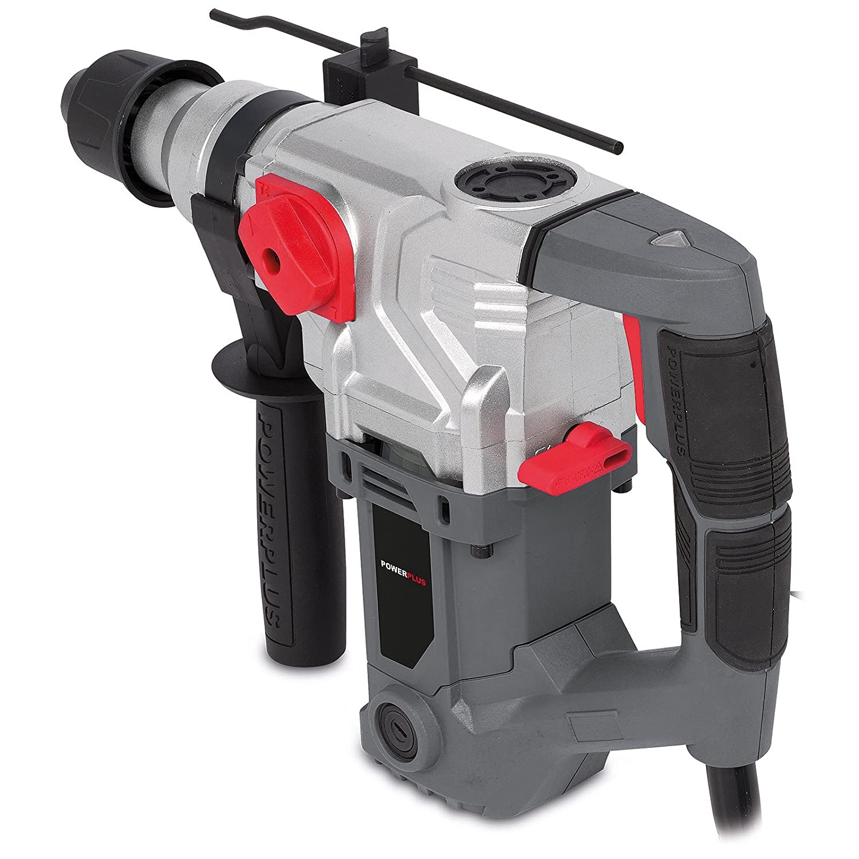 Powerplus powe10080/Key 850RPM 1500/W Black /Power drills Silver Power Drill/ Red 1500/W, 220//–/240, 145/mm, 400/mm, 310/mm, 7.58/kg Grey