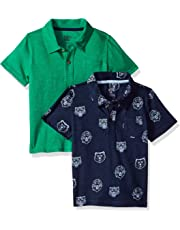 d069dcaed40010 Amazon Brand - Spotted Zebra Boys' Toddler & Kids 2-Pack Slub Jersey Short