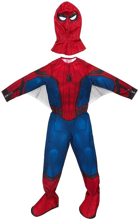 risparmia fino all'80% vende comprare a buon mercato Marvel I-630730M - Costume di Carnevale classico, Uomo Ragno con galosce, M