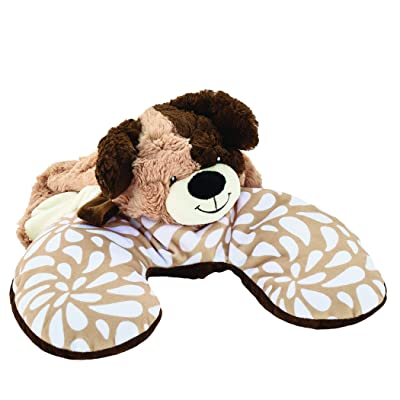 "Animal Adventure | Popovers Travel Pillow | Tan Dog | Transforms from Character to Travel Pillow | 13"" x 8.5"" x 6: Toys & Games"