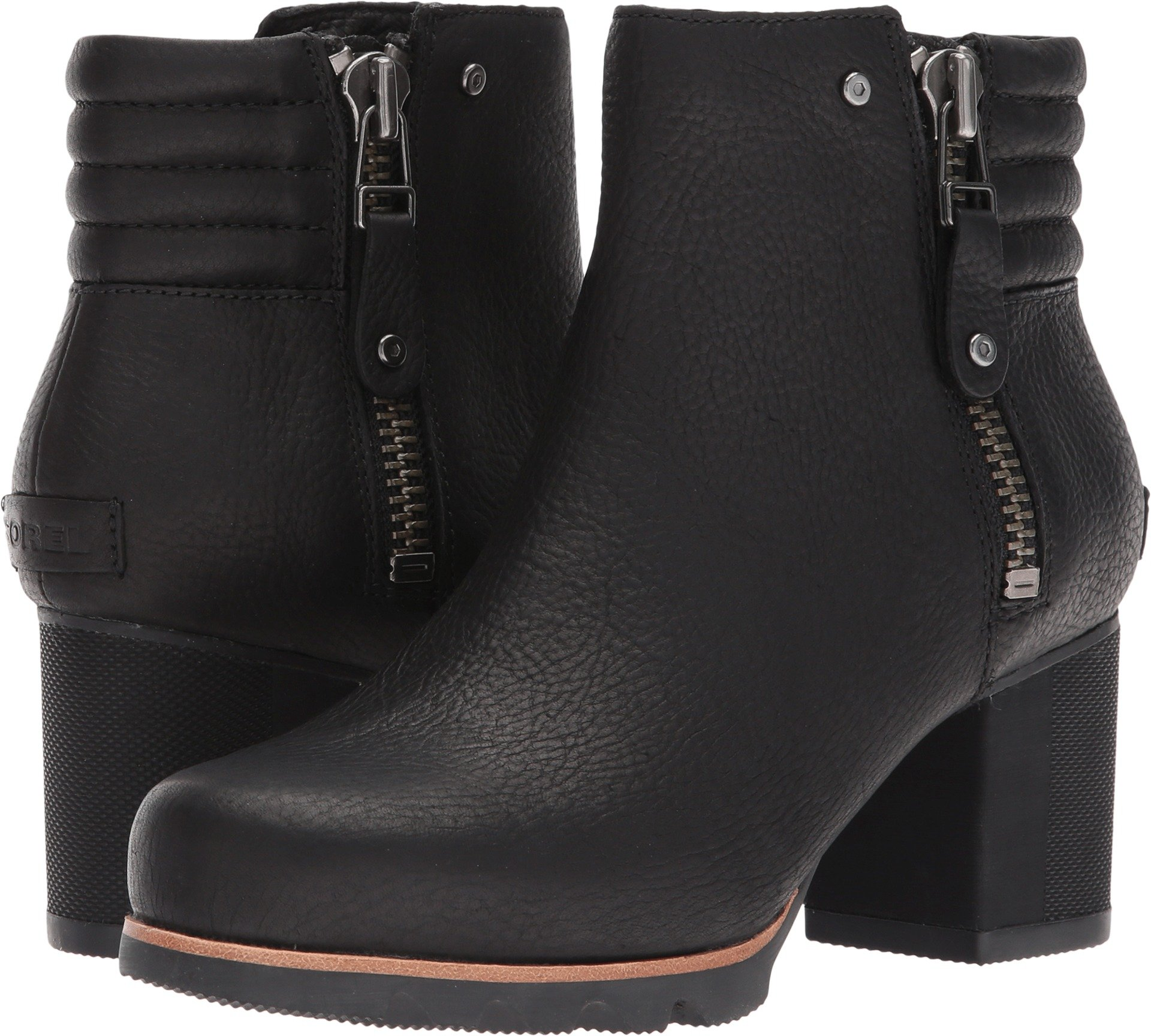 SOREL Women's Danica Bootie Black/Quarry 8 B US by SOREL (Image #1)