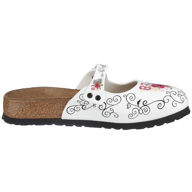 Birki Women s Maria Clogs   Mules white EU 38  Amazon.co.uk  Shoes   Bags 8629de48571