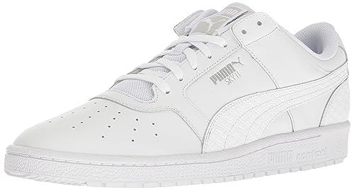 Puma Men's Sky II LO B&W Basketball Shoe, White, ...