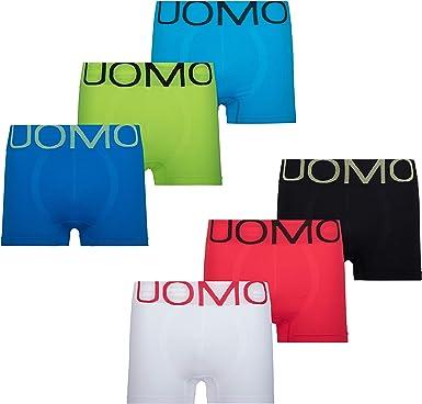 MC.TAM - Calzoncillos tipo bóxer para hombre, 95% algodón (Oeko Tex® Standard 100) Microfibra de neón. XXL: Amazon.es: Ropa y accesorios