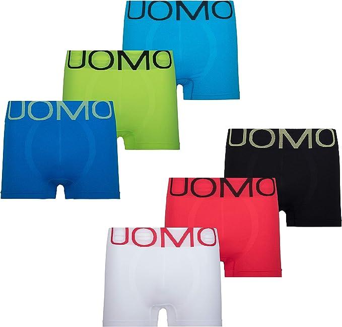 Uomo Boxer Homme Microfibre Rétro Shorts sous vêtements Lot