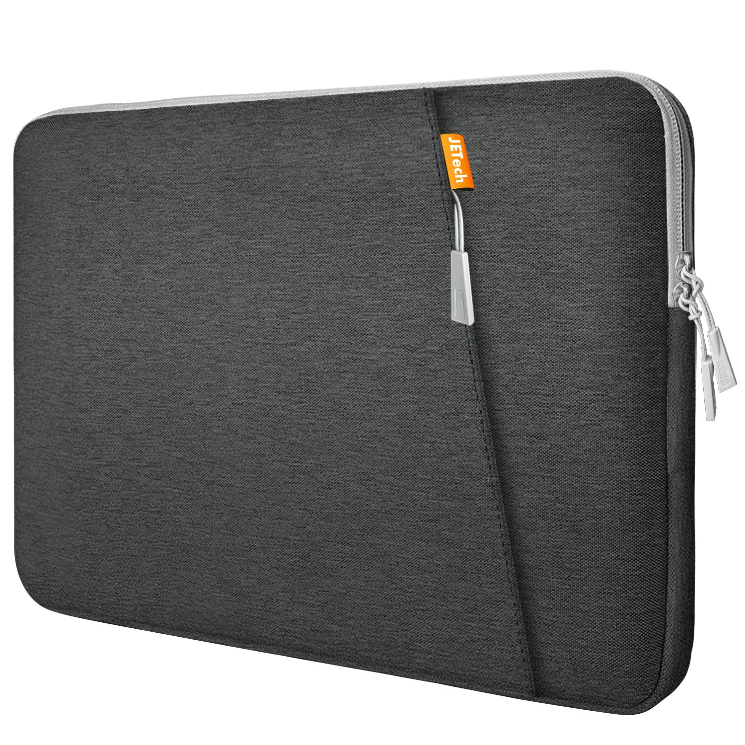 JETech Laptop Sleeve for 15.4-inch Notebook Tablet iPad Tab, Waterproof Shock Resistant Bag Case with Accessory Pocket J3732