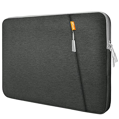 JETech Laptop Sleeve for 13.3-Inch Notebook Tablet iPad Tab, Waterproof Shock Resistant Bag Case with Accessory Pocket