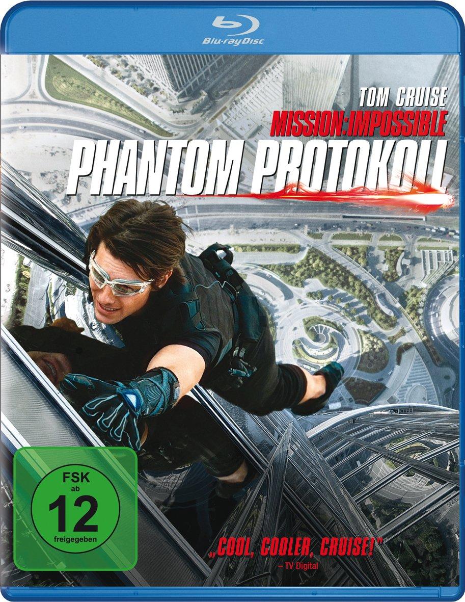 Mission Impossible 4 - Phantom Protokoll (Blu-ray)