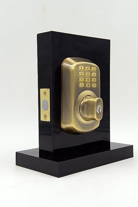 Deadbolt Smartphone Managed Keyless Door Lock Keypad Smart Lock