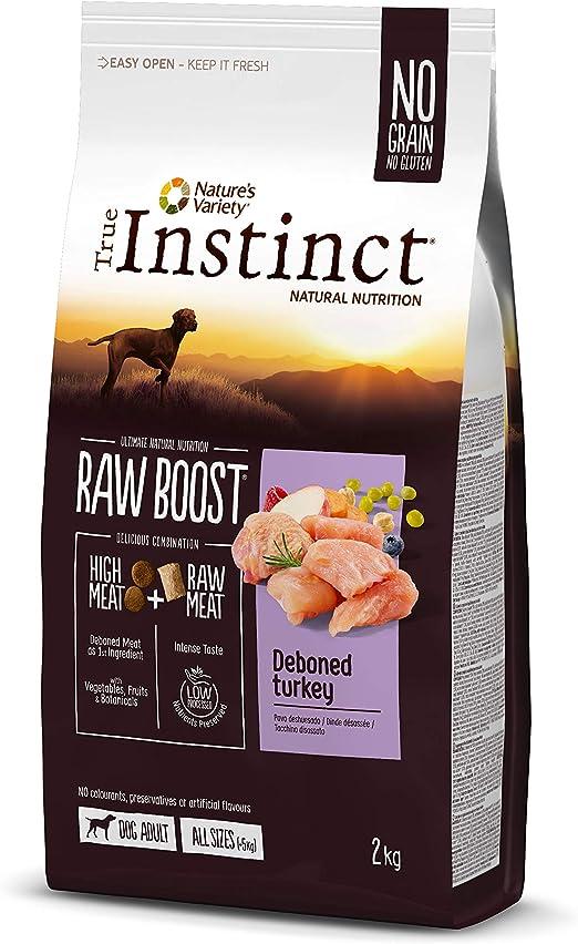 True Instinct Raw Boost con Pavo Deshuesado 2 kg 2000 g: Amazon.es ...