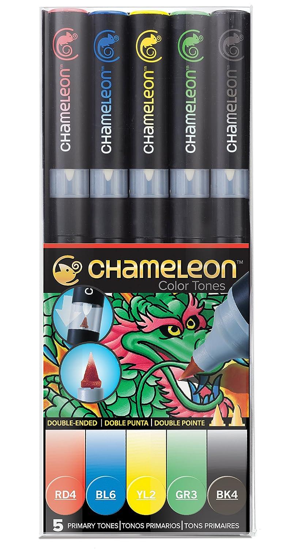 Chameleon 5-Pen Primary Tones Set CHAM0502