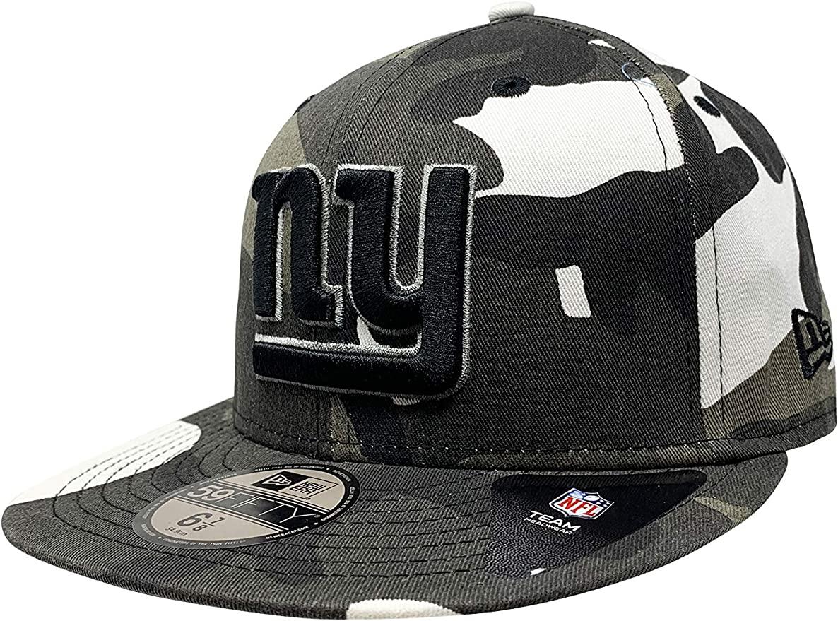 NEW YORK GIANTS 2016 Sideline Fitted New Era 5950 Cap NFL Official Mens Hat NY