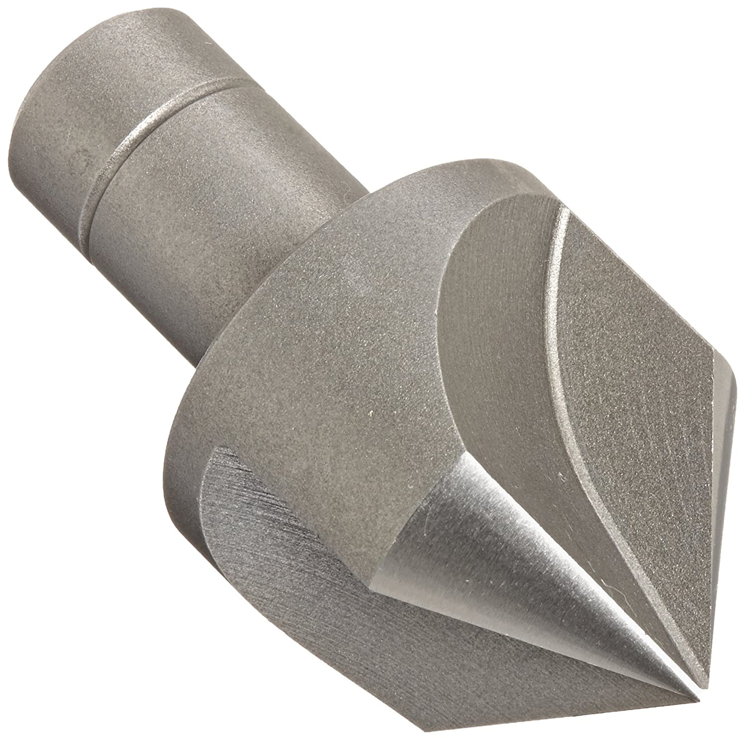 Finish Bright Uncoated 90 Degree Point Angle 3//4 Shank Diameter KEO 55327 Cobalt Steel Single-End Countersink 3 Flutes 1-1//2 Body Diameter Round Shank