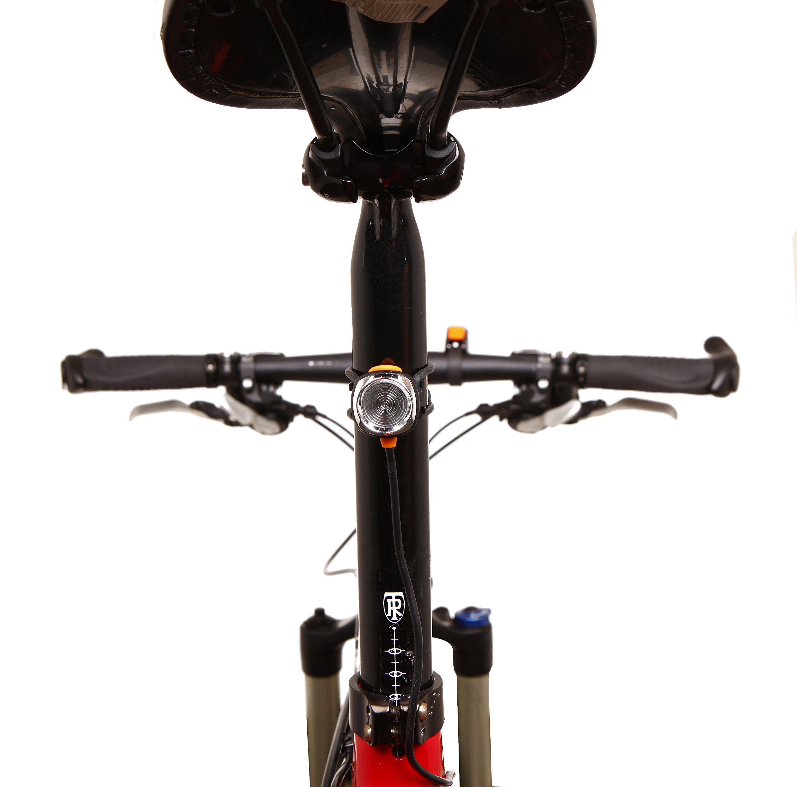 Magicshine MJ 906, High Grade MTB Enduro Bike Light Set, 5000 Lumens of Max output. Wireless Remote Bicycle Lights Front And Rear Combo, LED Bike Tail Light, Perfect Beam Pattern Bright Bike Light by Magicshine (Image #9)