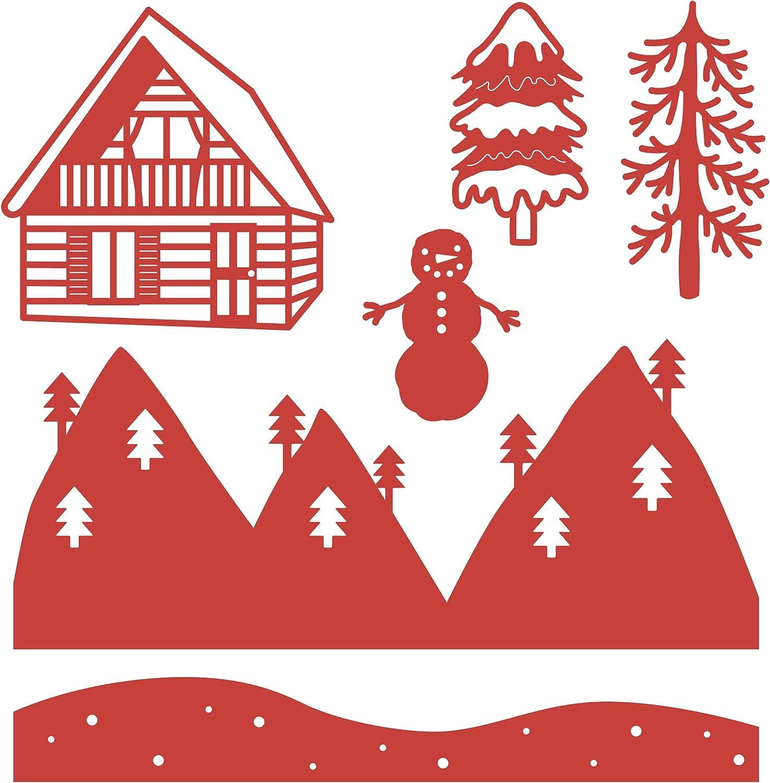 First Edition Trimcraft Christmas Icon Dies FEDIE259X18