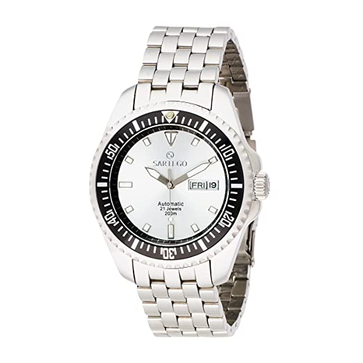 Amazon.com: Sartego de los hombres SPA25 Océano Master Reloj ...