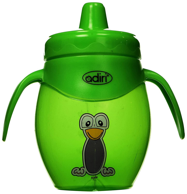 Adiri Penguin Training Cup, Green, 8.5 Ounce by Adiri   B00HHD0DPK