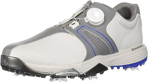 Respetuoso nacimiento Oclusión  adidas Men's 360 Traxion Boa Golf Shoe, Grey One Grey Three/Hi-res Blue S,  14.5 UK: Amazon.co.uk: Shoes & Bags