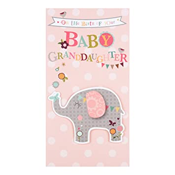 Felicitations pour la naissance d'une petite fille