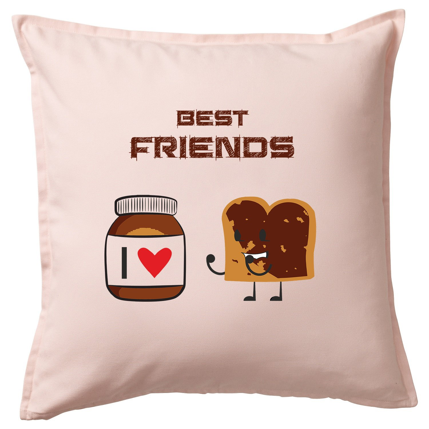 Cuscino nutella Funny/Cushion & Pillow Baumwolle