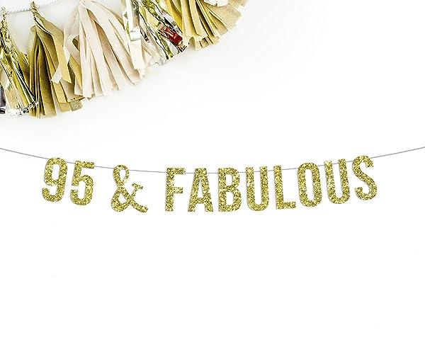 95 Fabulous Gold Banner