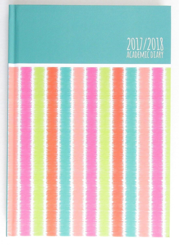 Agenda académica 2017-2018, tamaño A5, vista semanal, tapa ...