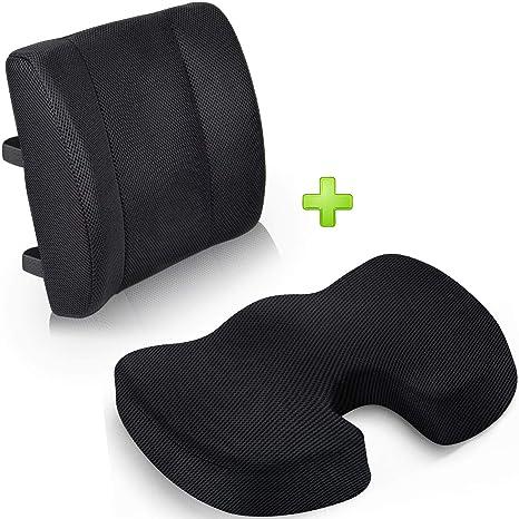 Amazon.com: Cojín para asiento de coche, para silla de ...