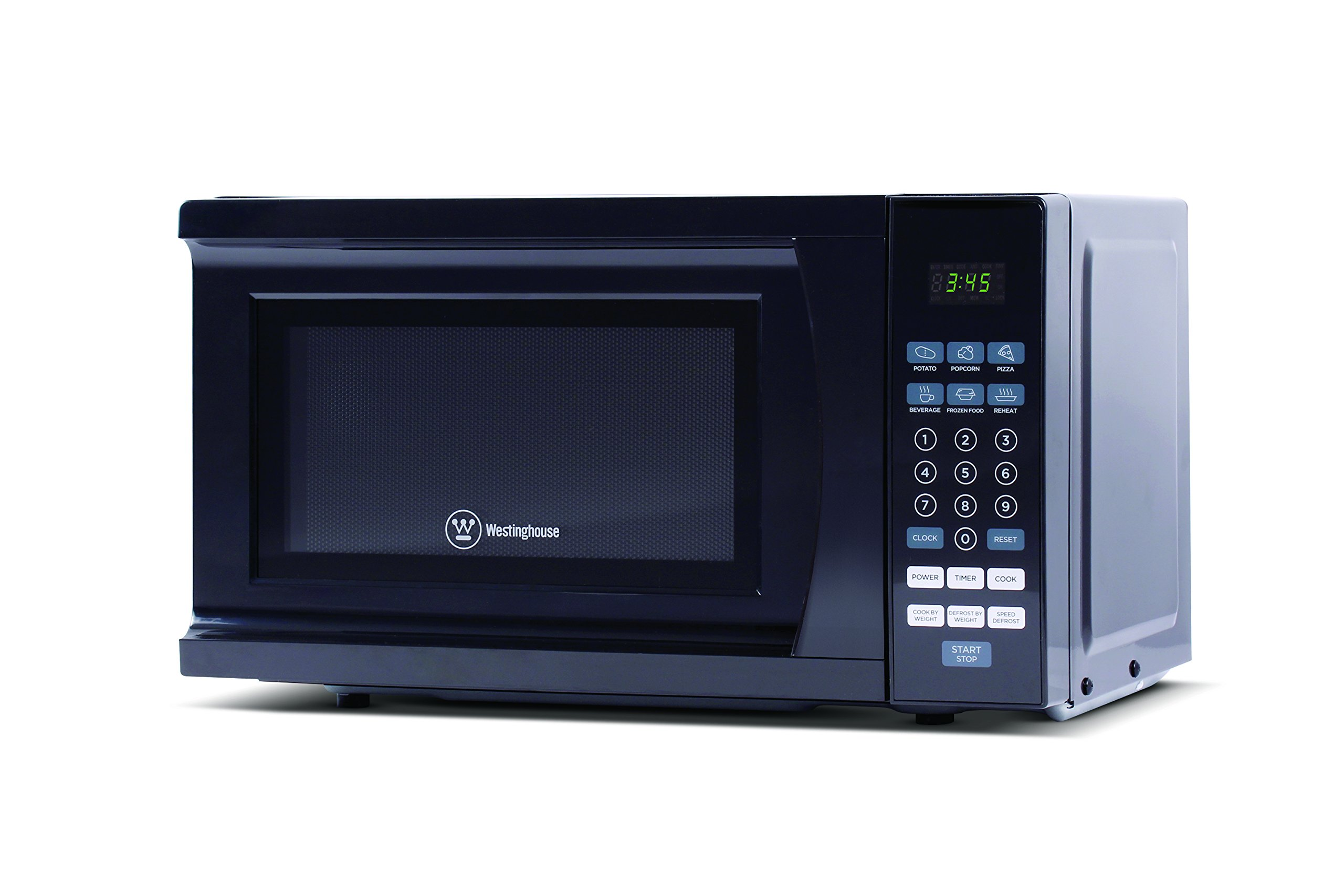 Westinghouse WCM770B 700 Watt Counter Top Microwave Oven, 0.7 Cubic Feet, Black Cabinet by Westinghouse (Image #2)