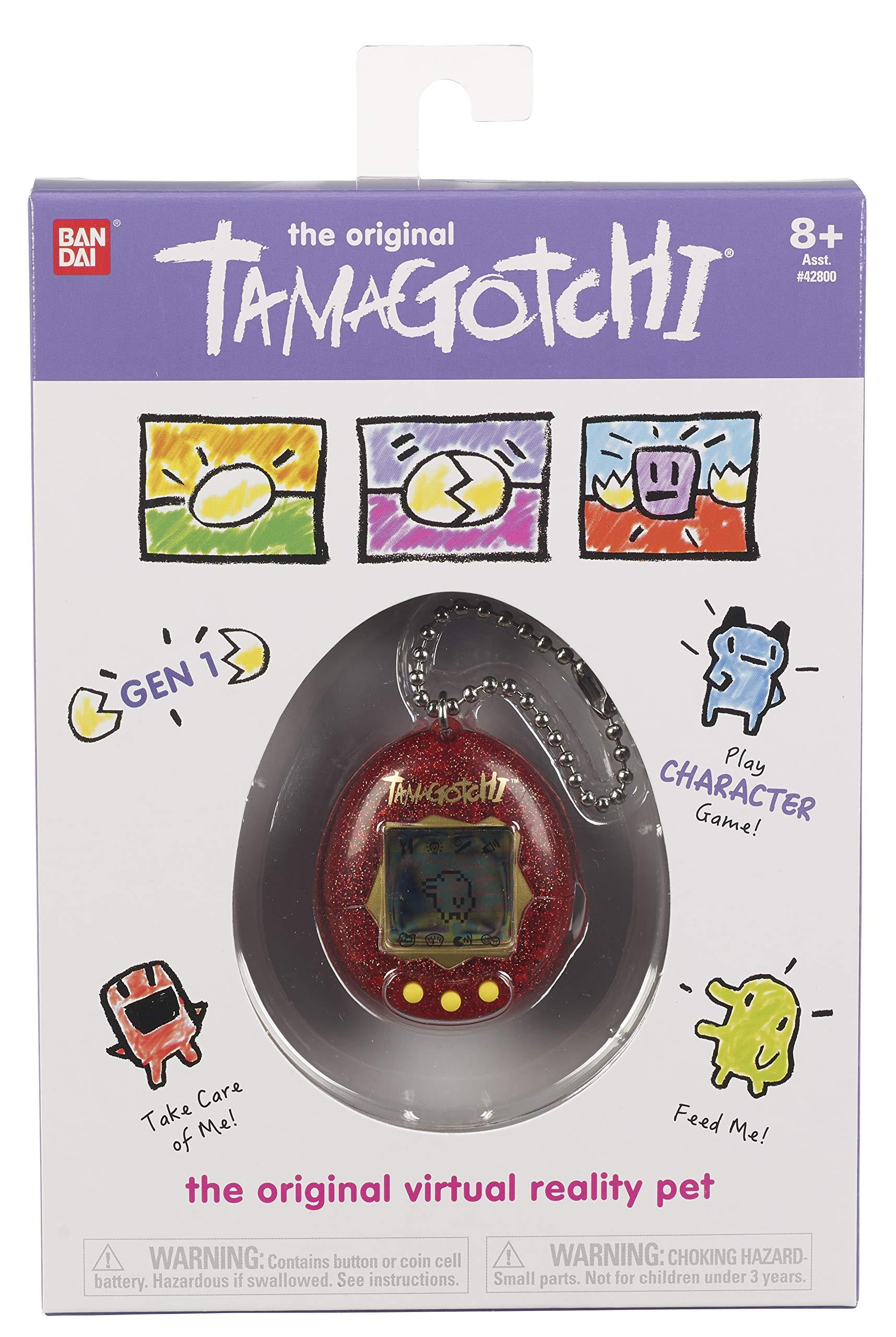Tamagotchi Electronic Game, Red Glitter by Tamagotchi (Image #2)