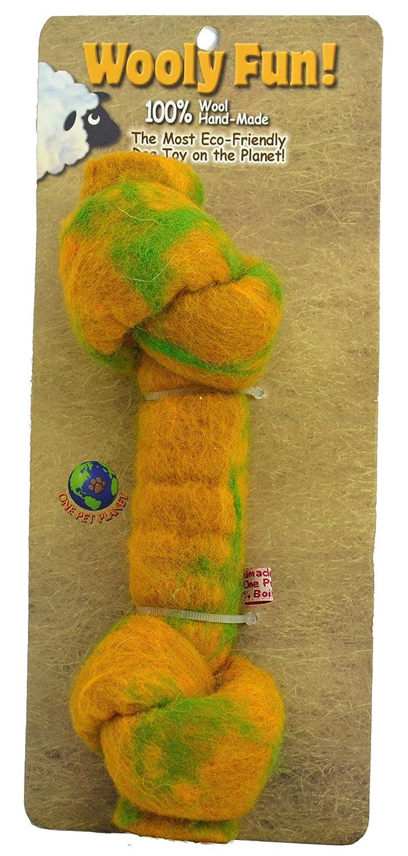 One Pet Planet in annodata Bone Bone Bone Chew Toy, 21,6 cm, Giallo 2c61c9