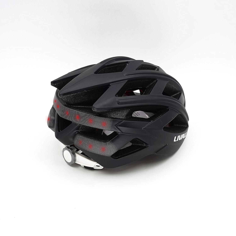 LIVALL BH60SE 自転車 ヘルメット LEDライト 方向指示器 3軸センサー 安全アラート ブルートゥース 音楽視聴 電話機能 トランシーバー GPSナビゲーション