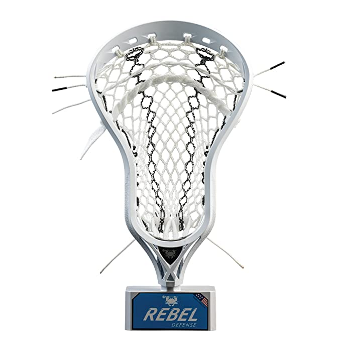 East Coast Dyes - Rebel Defense Strung Lacrosse Head – The Best Lacrosse Head for Picking Groundball