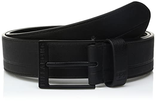 Billabong Men's Scheme Belt, BLACK, XL