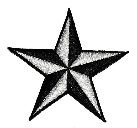NS-02 Naval de símbolo marinero tatuaje con detalle de Star ...