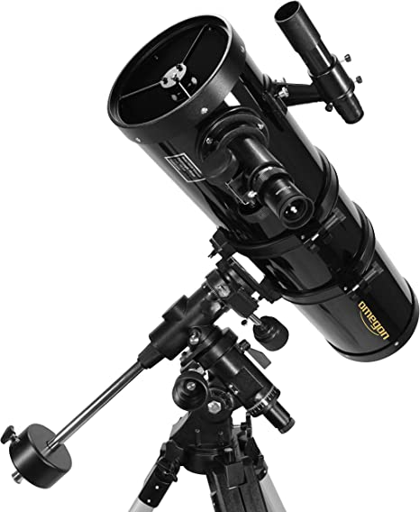 Omegon N 150//750 EQ-4 astronomical telescope with 150mm aperture and 750mm focal length