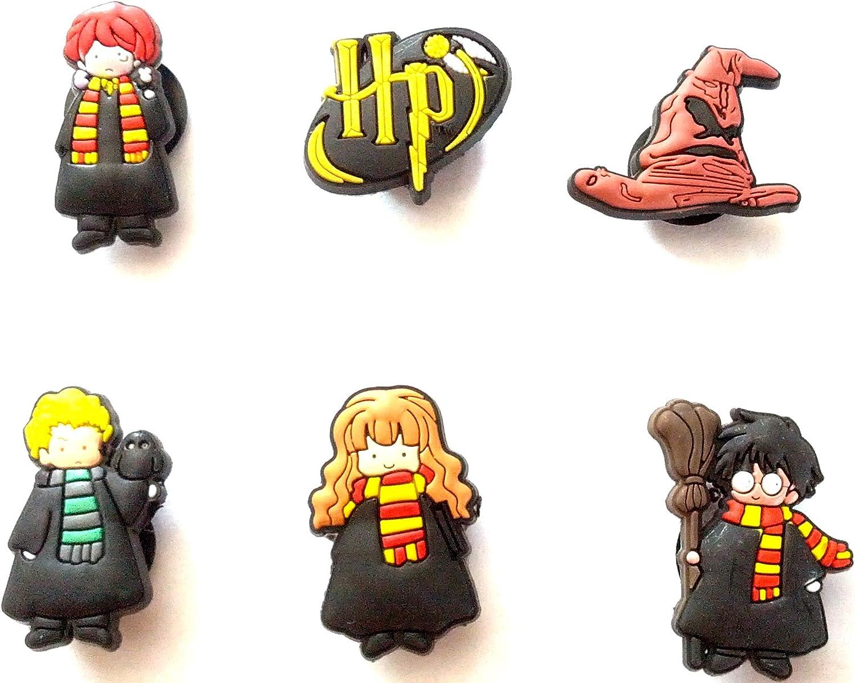 Amazon.com: Harry Potter Shoe Charms 6