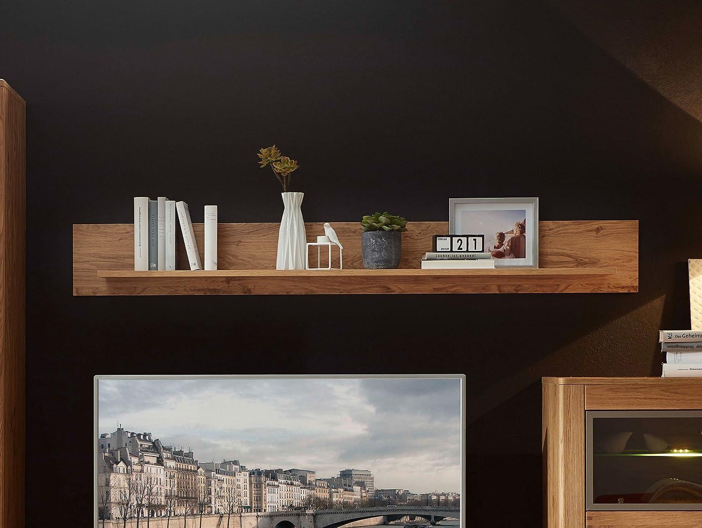 Wildeiche 130 cm Material Dekorspanplatte moebel-eins Orion Wandboard