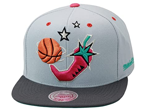 huge discount bf45c d74c7 Image Unavailable. Image not available for. Color  Mitchell   Ness NBA All  Star Game  96 San Antonio Snapback Hat ...