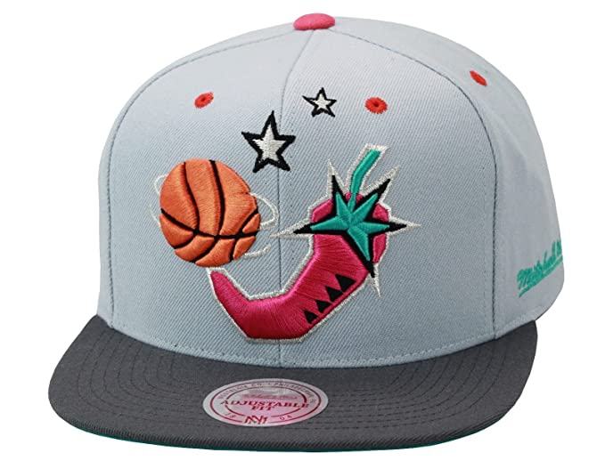 Image Unavailable. Image not available for. Color  Mitchell   Ness NBA All  Star Game  96 San Antonio Snapback Hat ... 0ea6a7982bd7