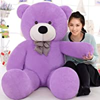 Buttercup Loveable HUGABLE Soft Giant Life Size , Long Huge Teddy Bear(Best for Someone Special) - 4 Feet (91 cm, Purple)