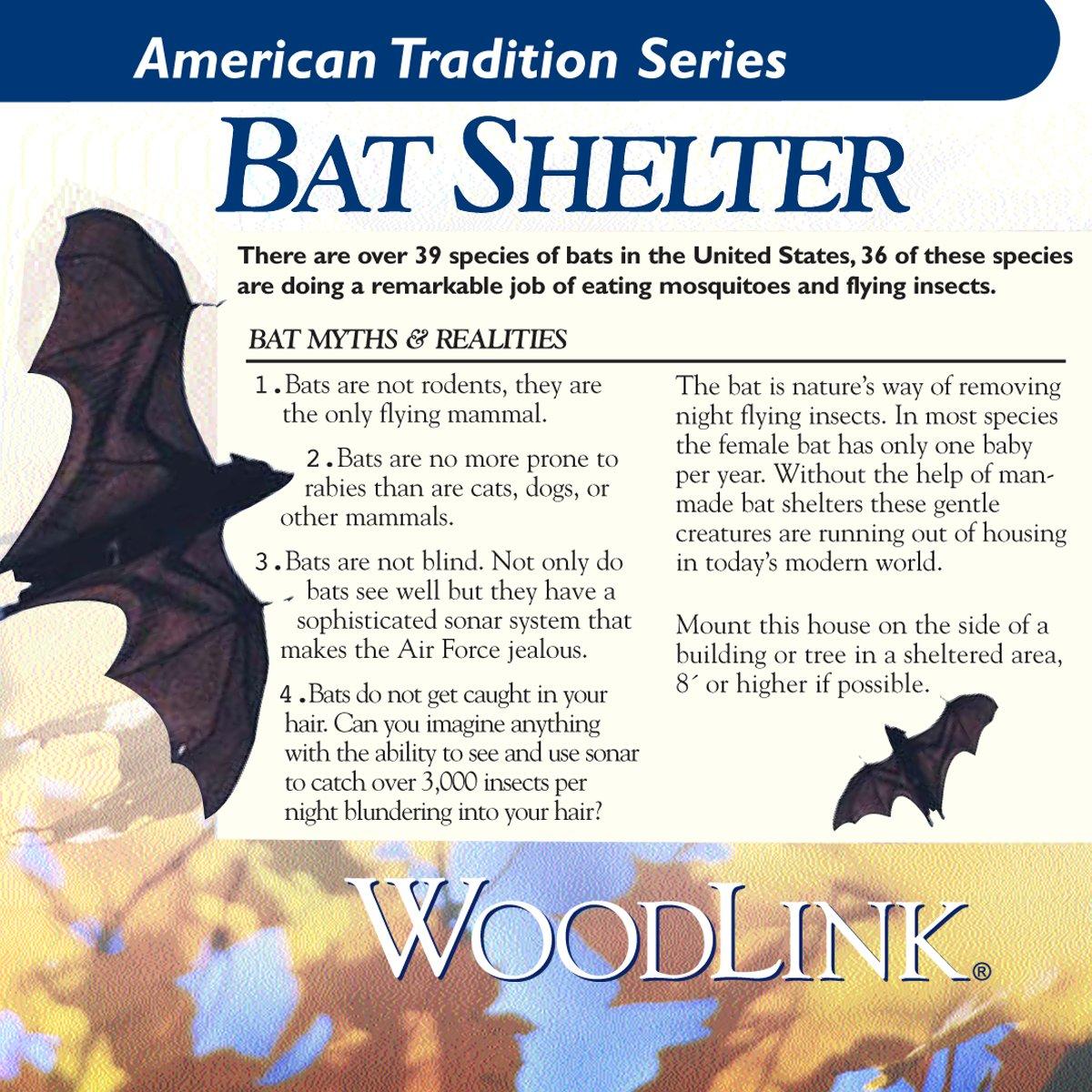 Woodlink BAT1 Cedar Bat Cottage by Woodlink (Image #9)