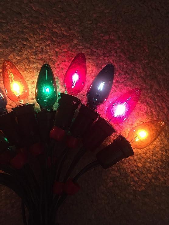 6 Spare Christmas Lamps For Vintage Pifco Osram Vesta 12 Bulb  Light Set 20V 3W