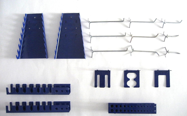 Gut gemocht Haken und Halter-Set Werkzeughalter für Werkzeugwand Lochwand 17 RL74