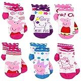Amazon Price History for:Peppa Pig Girls 6 pack Socks (Toddler/Little Kid/Big Kid)