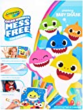 Crayola 757103 Baby Shark Wonder Pages Mess Free Coloring Gift, Kids Indoor Activities at Home