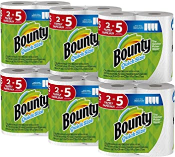 12 Count Bounty Quick-Size Paper Towels