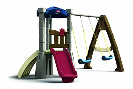 Amazon Com Little Tikes Endless Adventures Swing Set Toys Games